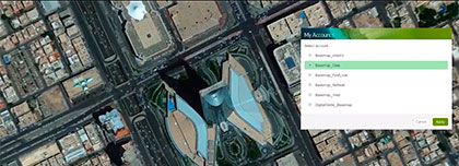 Digital Globe's Global Basemap service