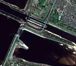 Россия, Рыбинск, 2009 г., QuickBird © DigitalGlobe
